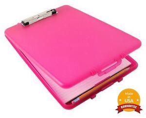 Image Is Loading Dexas Slim Case Clipboard Storage Plastic Sleek Design
