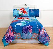 Little Mermaid Comforter Girls Twin/Full Size Ariel Children's Kids Bedding