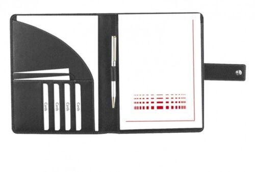 Marke EuroStyle Schreibmappe A5 Copana-Rindnappaleder schwarz excl