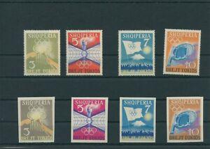 Albanie-1964-Mi-823-826-828-831-Neuf-MNH-Plus-Sh-Boutique