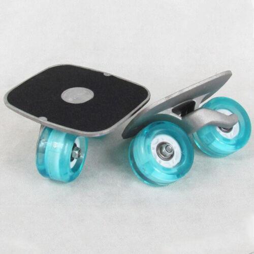 Portable Skate Drift Board Roller Road Plate Anti-skid Skateboard Wheels Pedal