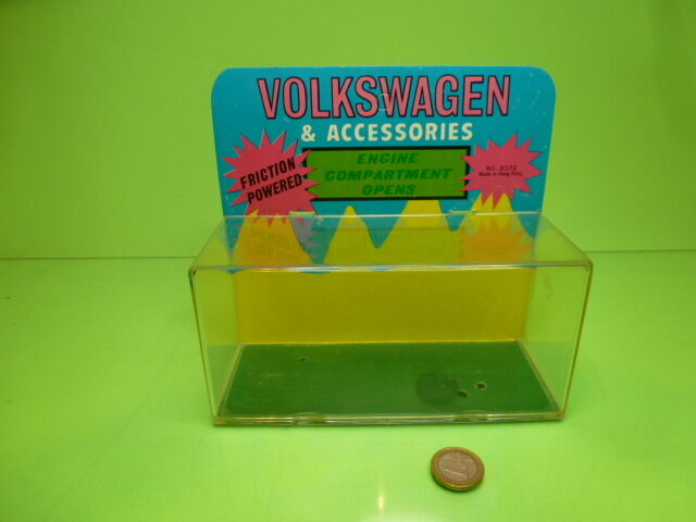MADE IN HONG KONG 3072 BOX BOX BOX for VOLKSWAGEN BEETLE - GOOD CONDITION   ONLY BOX  ae5593