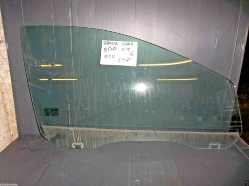 FORD FOCUS 2005-2011 5DOOR OFFSIDE DRIVER SIDE FRONT DOOR WINDOW GLASS