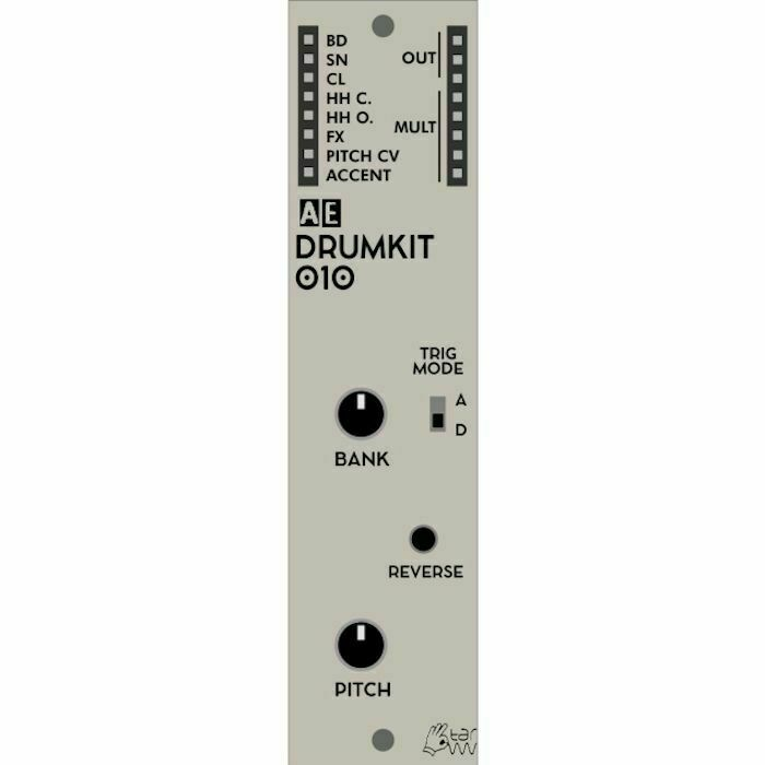 Tangible Waves AE Modular Drumkit 010 8 Bit Drum Sound Generator Module