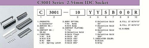 IDC 26 Way Socket Female 26W Ribbon 26Way with Bump Strain Relief  x 5pcs
