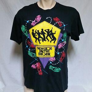 5786c12a VTG 1989 New Kids On The Block NKOTB T Shirt 80s Tour Concert 90s ...