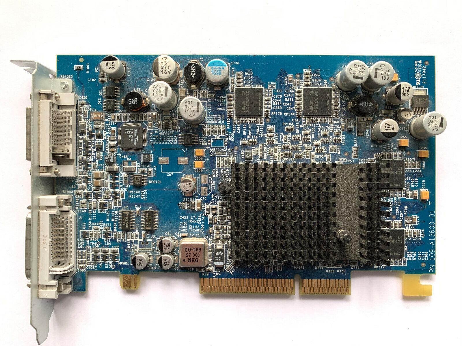 Apple PowerMac G5 ATI Radion 9600 Pro 64MB Video Graphics Card DVI ADC 603-3252