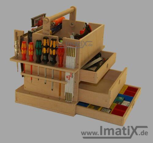 ImatiX LBX42 Bosch Werkzeugeinsatz Holzeinsatz f Sortimo L-Boxx 374 NEU!!!