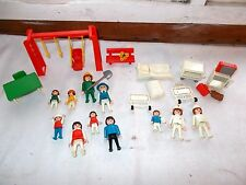 Vintage Playmobil Park and Hospital 22 Pc Play Set 1974
