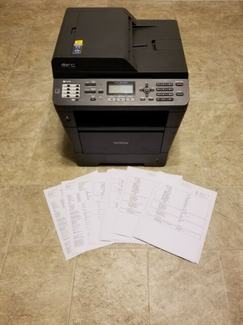 Brother Mfc-8510Dn All-In-One Laser Printer