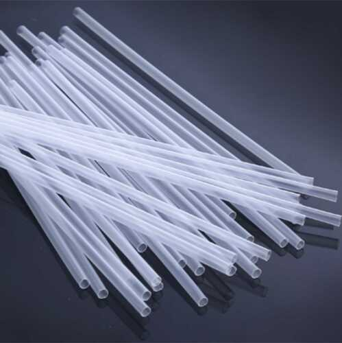 Claro Plástico Pajas-diversas-Flexi-a Rayas-Smoothie-Neón-Negro