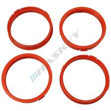 4 Felgen Zentrierringe 73,1 - 66,6 Seat / Mazda / Opel / Honda Alufelgen Ringe