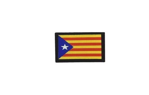 Patch ecusson brode imprime  backpack drapeau catalogne catalan independant r2