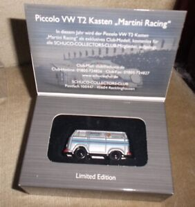 "# 50522900 Schuco Piccolo VW T2 Kasten /""After eight/"" mit Pin"