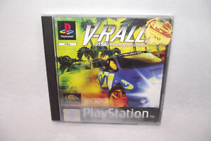 Jeu-Playstation-1-PS1-V-RALLY-97-Champion-Edition-Infogrames-PAL-Complet-manuel