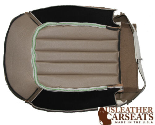 2004 2005 Mercury Mountaineer Driver Bottom Replacement Leather Seat Cover Tan