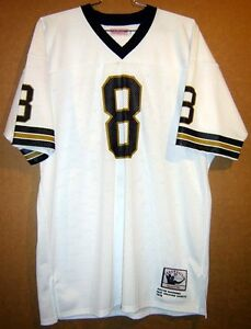 timeless design f3535 ecda1 Details about NEW ORLEANS SAINTS ARCHIE MANNING White #8 NFL Size 52  Football JERSEY