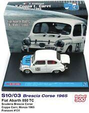 Fiat Abarth 850 TC - Brescia Corse - Franzoni - Carri 6th Monza 1965 #131 -Brumm