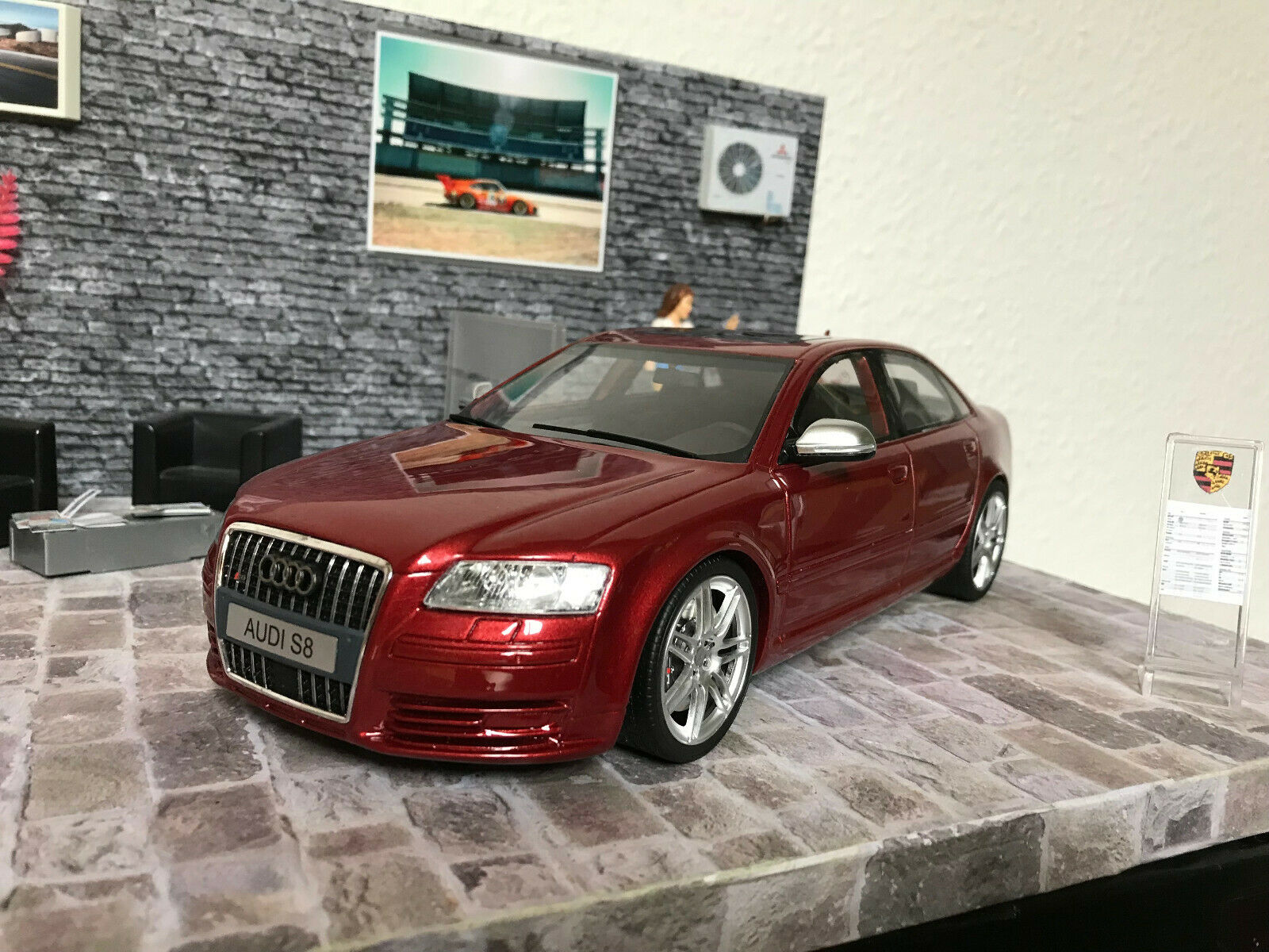 Audi S8 Otto Mobile 1 18 Tuning Conversion BNIB No 32 999  UNIQUE