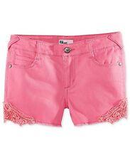 Epic Threads By Macy's Girls' Crochet Trim Shorts, Sugar Plum, Size 8, $28