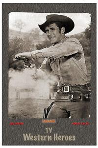 "4/""x6/"" MAGNET PRINT-/""WILD WILD WEST/"" TV Western Heroes Robert Conrad-Ross Martin"