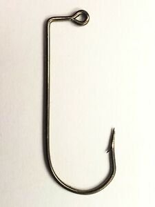-570--#3//0  BRONZE JIG HOOK 100 PCS PER PACKAGE EAGLE CLAW
