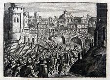 Einnahme Babylons durch Kyros II. Cyrus the Great Fall of Babylon Kupfer 1694