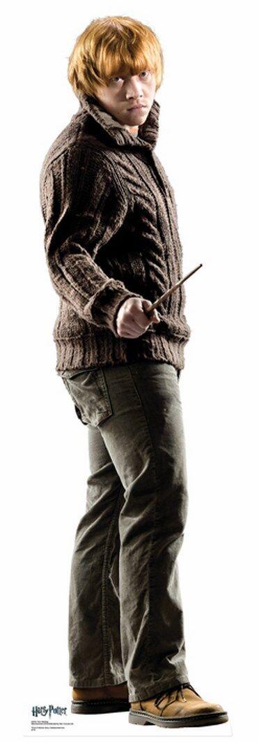 Ron Weasley LIFEGröße CARDBOARD CUTOUT standee Standup Rupert Grint Harry Harry Harry Potter fdae1d