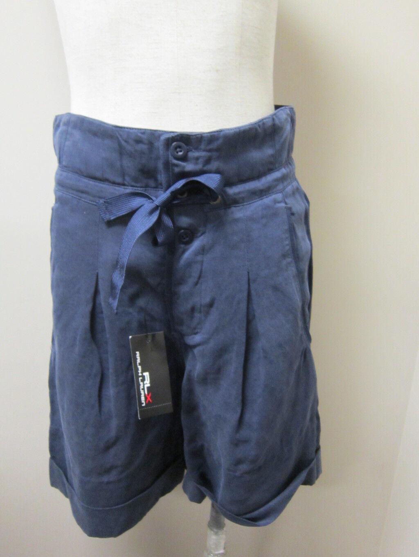 Ralph Lauren RLX Windraw Fluid Jersey Short bluee NWT  148