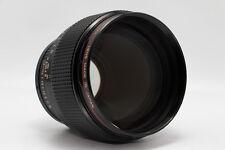 Canon New FD 85mm f/1.2 L MF Lens