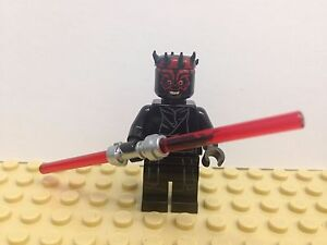 STAR WARS LEGO DARTH MAUL DOUBLE RED  LIGHT SABER