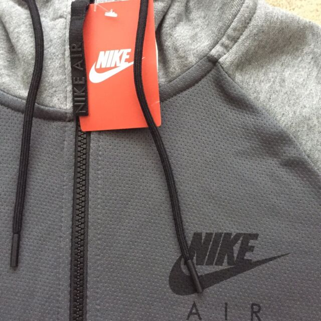 NEW Mens Nike Air Max Hybrid Fleece FZ Hoodie Jacket Casual Gym LTD Edition 1a3daa422