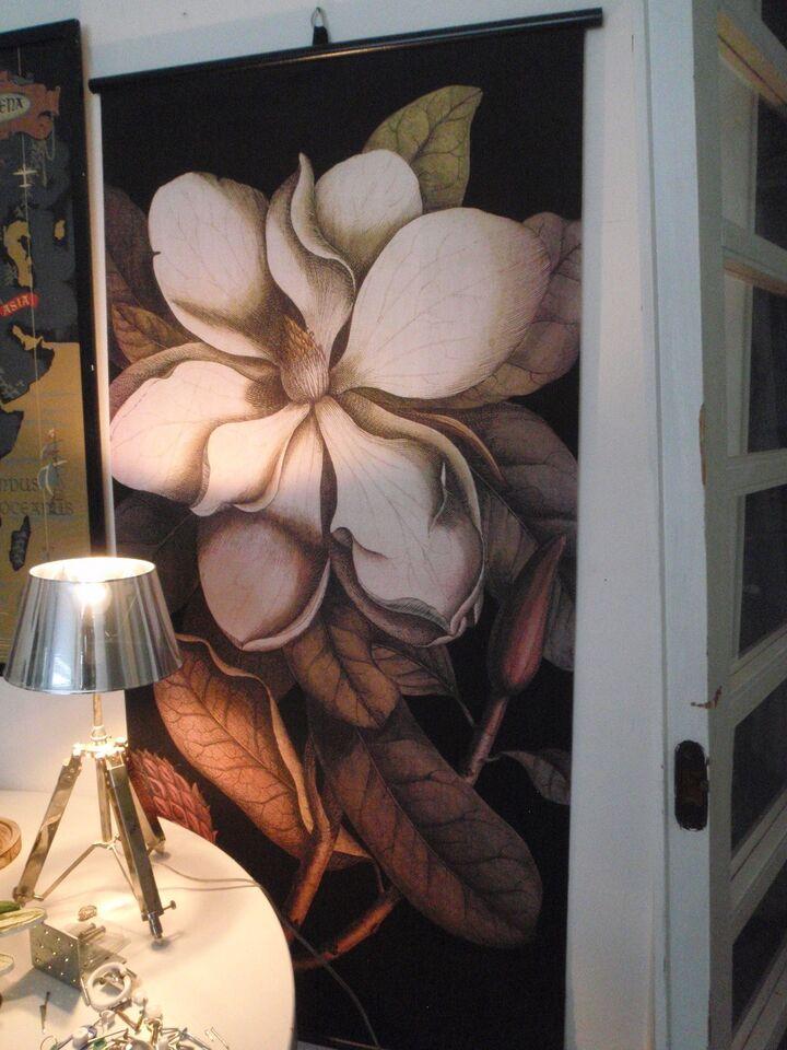 Blomster tryk på lærred, ?