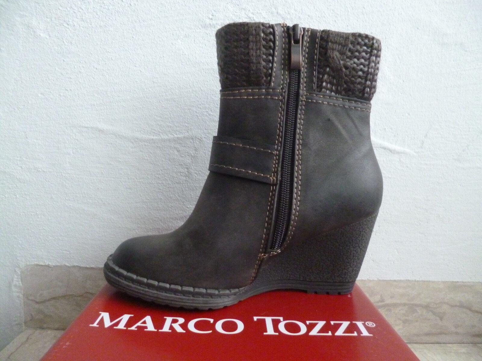 Marco Tozzi Stivali Donna Stivaletti Stieflette Stieflette Stieflette stivali Suola a Zeppa   Vendita  801c1a