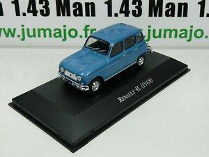 ARG16G-Voiture-1-43-SALVAT-Autos-Inolvidables-Renault-4L-1968