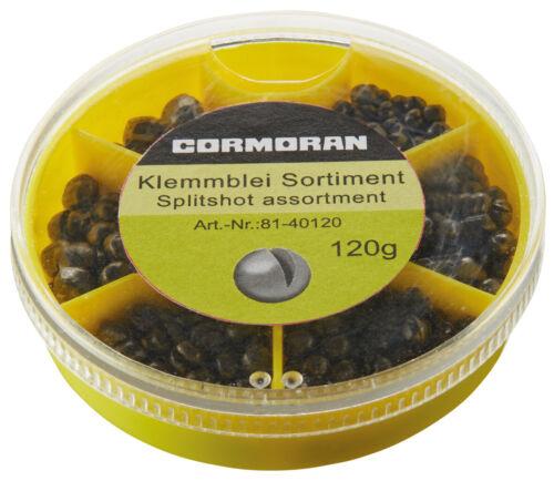 Cormoran Klemmblei Sortiment 120g feine Sortierung Bleischrot