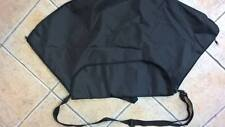 BLACK IRISH DANCING HALF MOON DRESS BAG