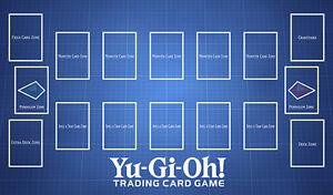 C1564 Free Mat Bag Custom Playmat YUGIOH Card Game Play