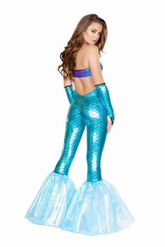 Roma Mermaid Vixen Bra Top /& Pants Turquoise Costume 4658