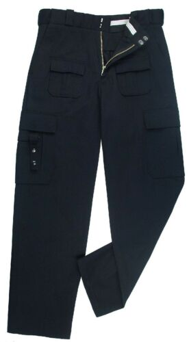 Tactical Uniform Duty Pants Blue Stain Resistant Fabric Rothco 9861