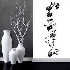 Ratten Flower Removable Vinyl Art Decals Wall Sticker Mural Home Room Decor US