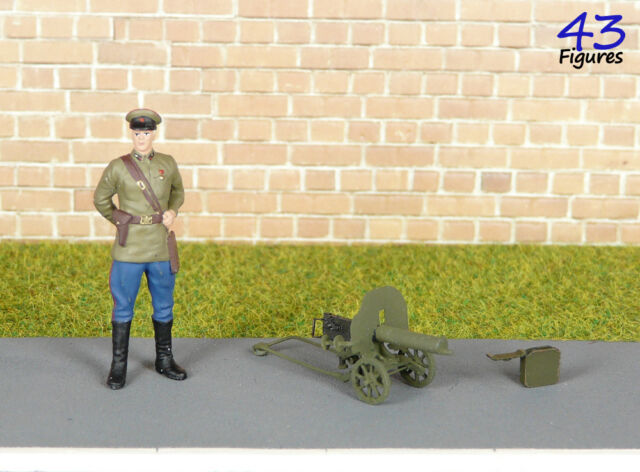 Maxim Gun 1:43 Resin