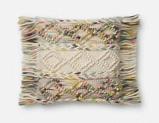 """Magnolia Home by Joanna Gaine Pillow 13/""""x21/"""" P0421 Multi Color NEW"""