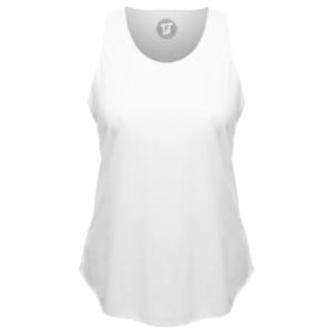 Lady Loose Tank Top Shirt mit rundem Bund Urban Fashion Mode Frauen FABTEE