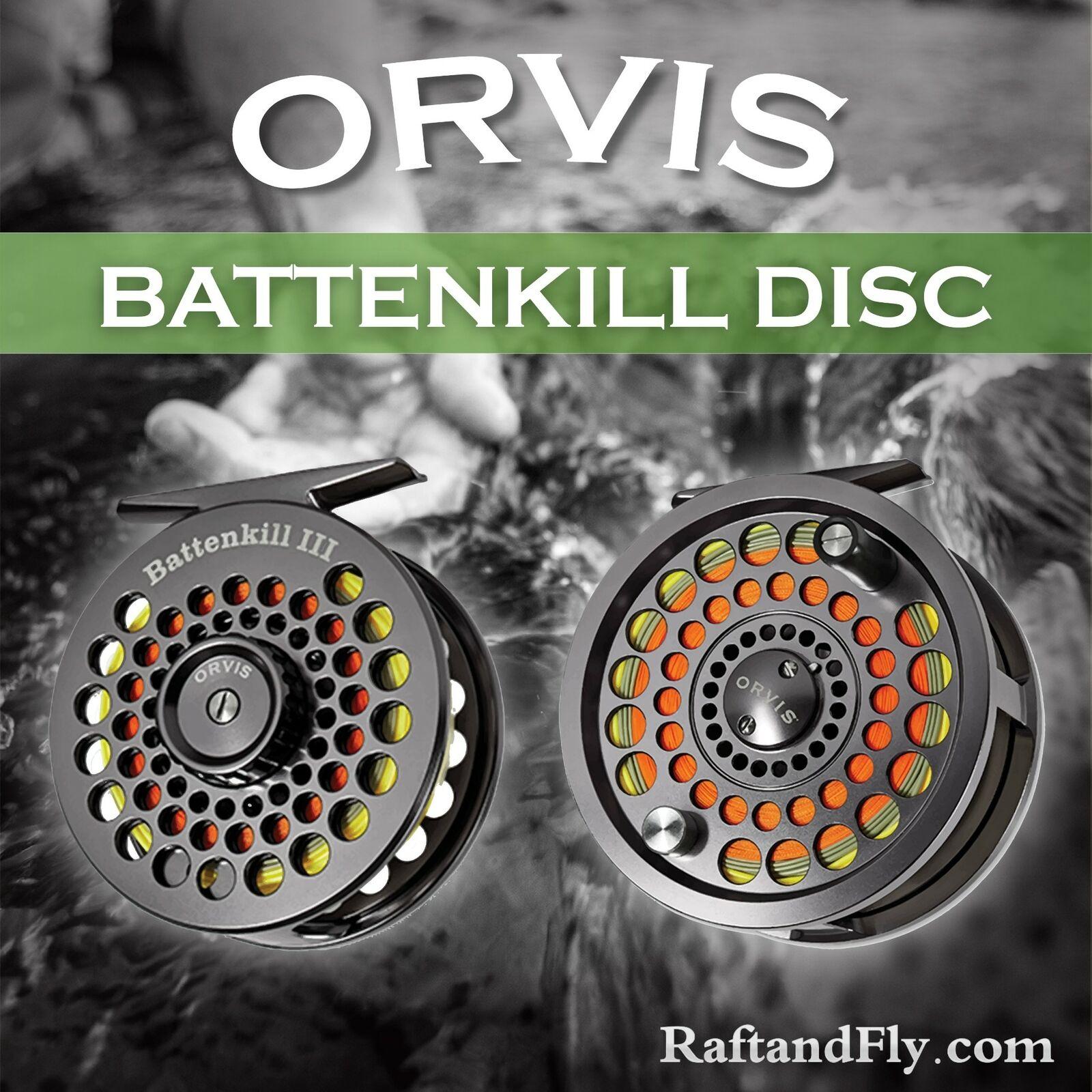 Orvis Battenkill Disc IV Fly Reel 7-9wt - Free Shipping