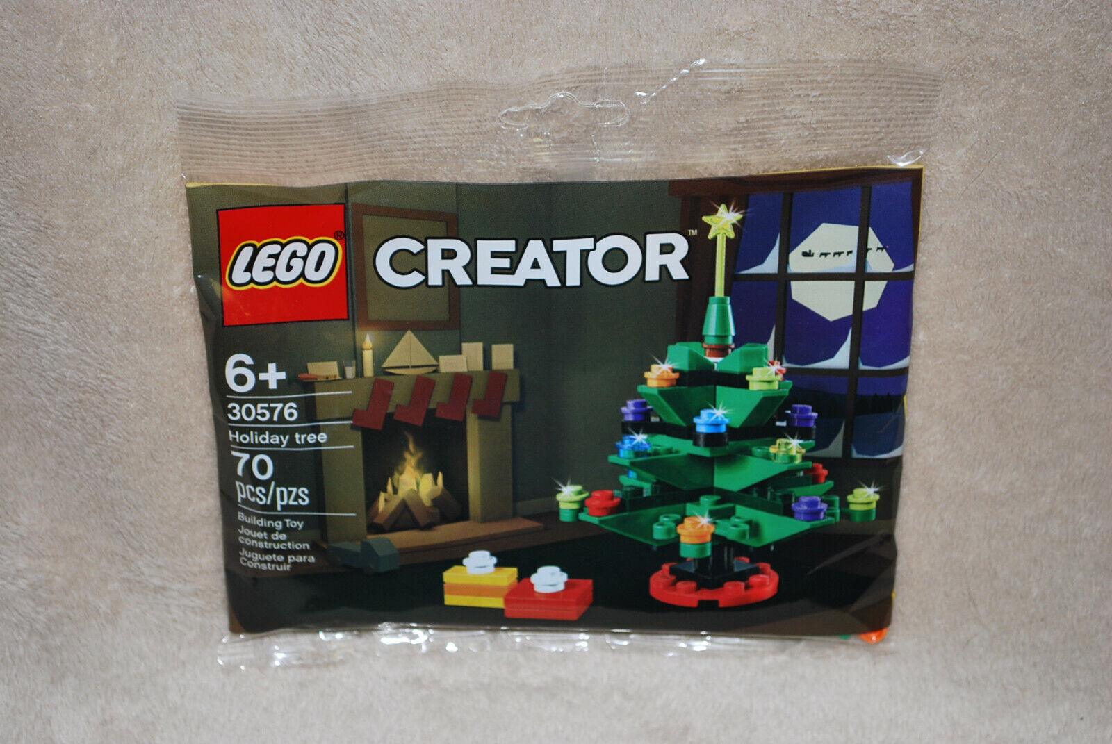 Lego Creator Polybag 30576 Weihnachtsbaum Tannenbaum Christmas Tree Neu /& OVP