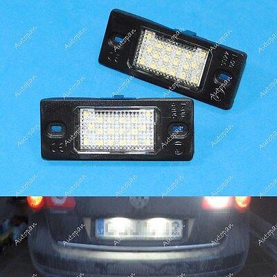 White LED License Plate Light For Cayenne Volkswagen Passat Wagon B5.5 3BG