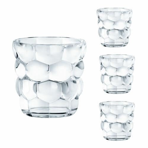 Nachtmann Bubbles Becherset 4tlg Wasserglas Glasbecher Wasserbecher Kristallglas