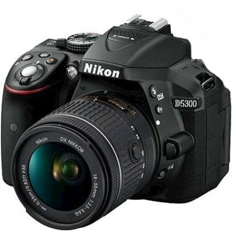 Nikon D5300 Camera with  AF-S 18-55mm F3.5-5.6G ED II Lens - (Trade ins Welcome - 021 945 1606)