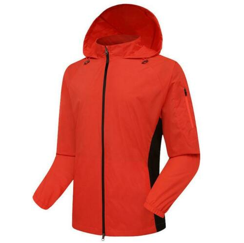 Men/'s Women/'s Waterproof Windproof Jacket Coat Motorcycle Cycling Hiking Running